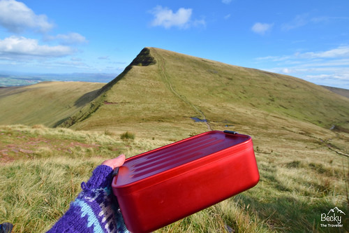 Pen y Fan day hike in Brecon Beacons National Park